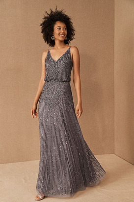 BHLDN Fidelia Dress By in Grey Size 0