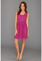 Nicole Miller Placement Lace Dress