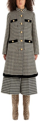 Gucci Houndstooth Coat