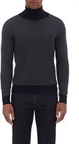 Isaia MEN'S WOOL-BLEND TURTLENECK SWEATER