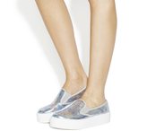 Office Disco Flatform Slip On Trainers