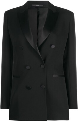 Paul Smith Double Breasted Tuxedo Blazer