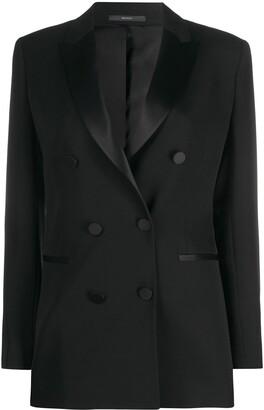 Paul Smith double breasted tuxedo blazer