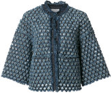Sonia Rykiel denim cropped jacket - women - Cotton - 38