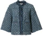 Sonia Rykiel denim cropped jacket