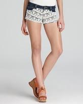 Aqua Shorts - Ari Crochet Denim