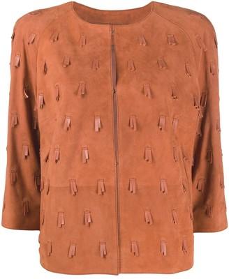 Desa 1972 Fringed Details Jacket
