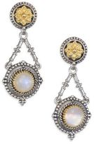Konstantino Erato Labradorite, 18K Yellow Gold & Sterling Silver Drop Earrings