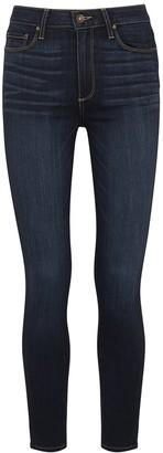Paige Hoxton Ankle Indigo Skinny Jeans