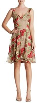 Dress the Population Maya Embroidered Rose Dress