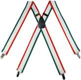 Buy Your Ties Mens Italian Flag Suspender Made in USA