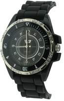 Golddigga Women's Quartz Watch with Black Dial Analogue Display and Black Bracelet DIG30/A