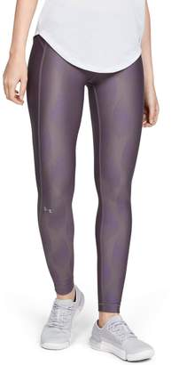 Under Armour Women's HeatGear Armour Metallic Leggings