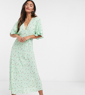 Ghost Tessie dress in green