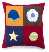 Amity Home Score Throw Pillow in Multi