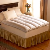 """Pacific Coast Feather Unbranded 4-in. King Quilt Top Featherbed - 76"""" x 80"""""""