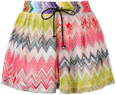 Missoni zig-zag shorts - women - Rayon - 40