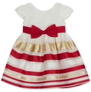 Rare Editions Baby Girls Burnout Dress