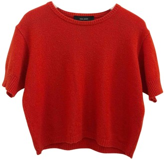 Isabel Marant Red Cashmere Top for Women