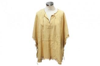 Hermes Beige Suede Knitwear for Women