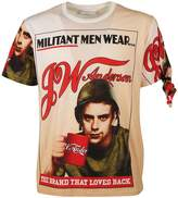 J.W.Anderson Militant Men Self-portrait T-shirt