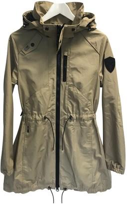 Nobis Camel Cotton Jacket for Women