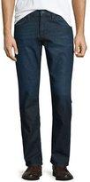 Hudson Byron Viral Straight-Leg Denim Jeans, Dark Blue