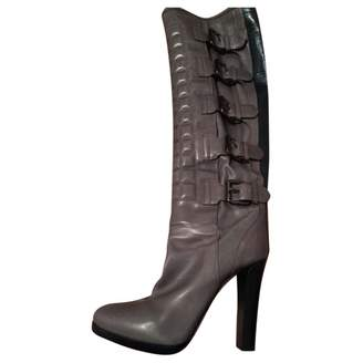 Reed Krakoff \N Grey Leather Boots