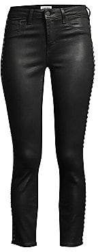 L'Agence Women's Margot High Rise Coated Skinny Jeans