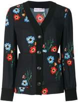 Sonia Rykiel crepe floral print jacket