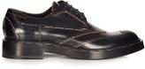 Balenciaga Leather staple derby shoes