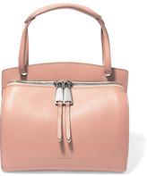 Jil Sander Blunt Leather Shoulder Bag