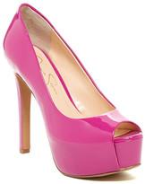 Jessica Simpson Carri Peep Toe Platform Stiletto