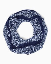Charming charlie Ahoy Anchor Infinity Scarf