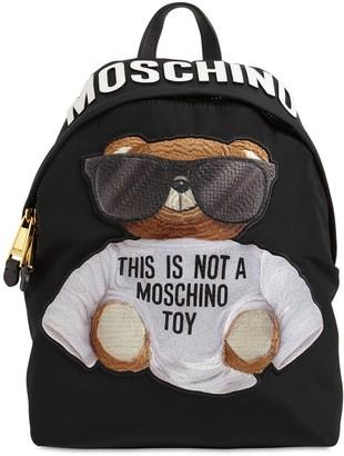 Moschino Teddy Nylon Backpack