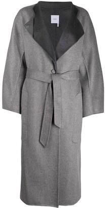 Agnona Belted Cashmere Coat
