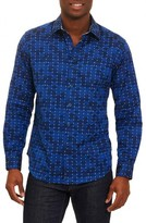 Robert Graham Men's Dark Matter Classic Fit Sport Shirt
