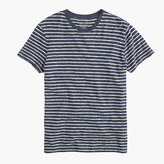 J.Crew Nautical-striped heathered T-shirt