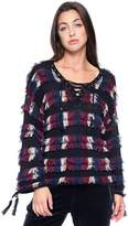 Juicy Couture Multicolor Fringe Pullover