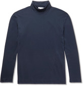 Sunspel Cotton-Jersey Rollneck T-Shirt