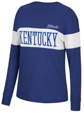 Top of the World Women's Kentucky Wildcats Colorblocked Long Sleeve T-Shirt