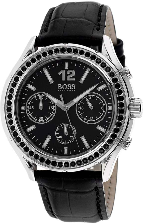 HUGO BOSS Women's Classic 1502264 Leather Quartz Watch with Dial