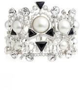 Givenchy Women's Chelsea Drama Crystal Flex Bracelet
