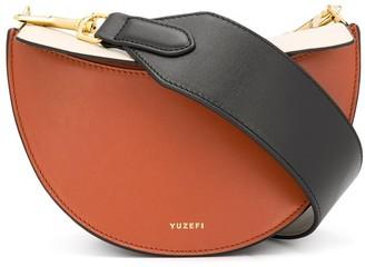 Yuzefi colour block chain strap bag