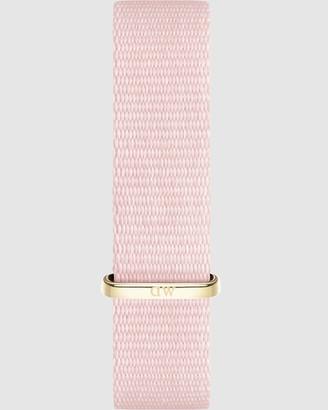 Daniel Wellington Nato Strap Petite 14 Rosewater Watch Band - For Petite 32mm
