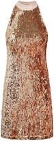 Sam Edelman Sequin Halter Dress