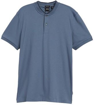BOSS Pratt Short Sleeve Henley Shirt