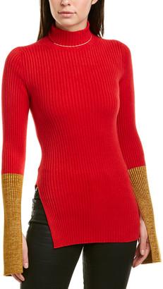 Moncler Turtleneck Sweaterdress
