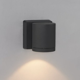 Bruck Lighting Cylinder 1 - Bulb LED Outdoor Armed Sconce