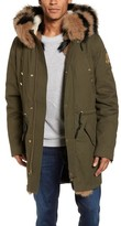 Men's Moose Knuckles Shapiro Parka With Genuine Fox Fur, Rabbit Fur & Shearling